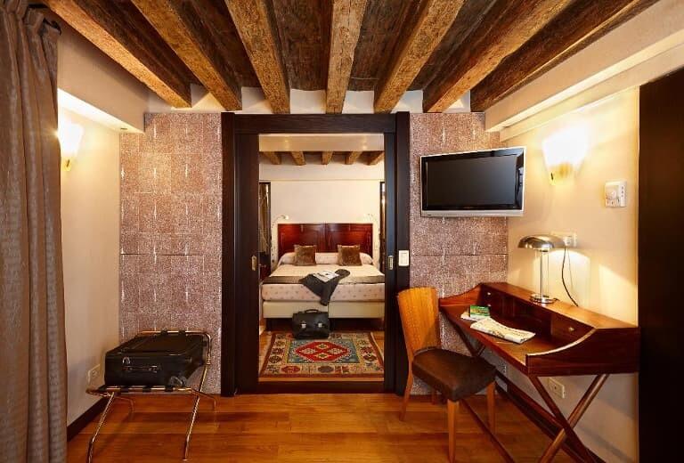 Detalle de una de sus habitaciones.