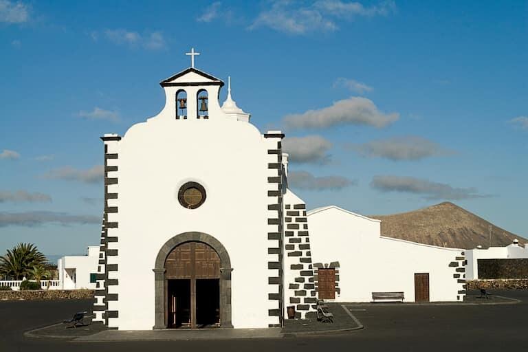 Ermita de los Dolores en Tinajo.