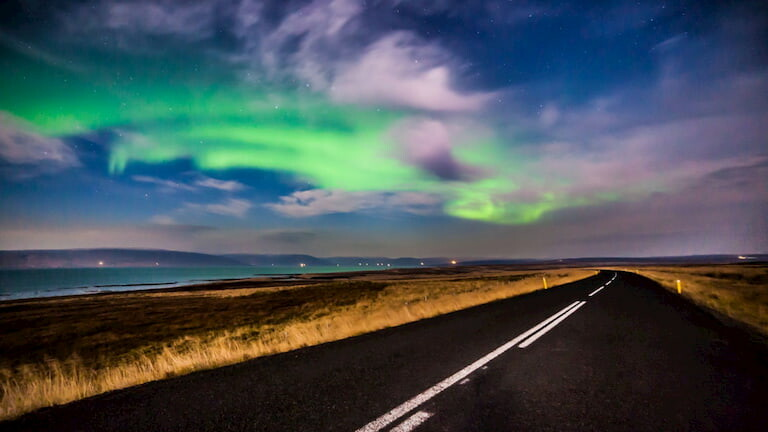 Auroras en Islandia