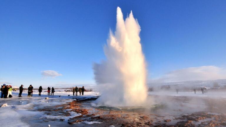 Géiser Strokkur en el Círculo Dorado de Islandia