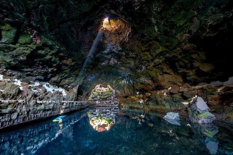 Lago subterráneo de los Jameos del Agua