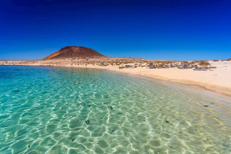 La isla de La Graciosa y sus playas.