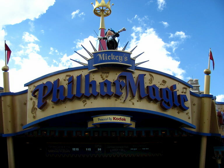 Mickey's PhilharMagic.