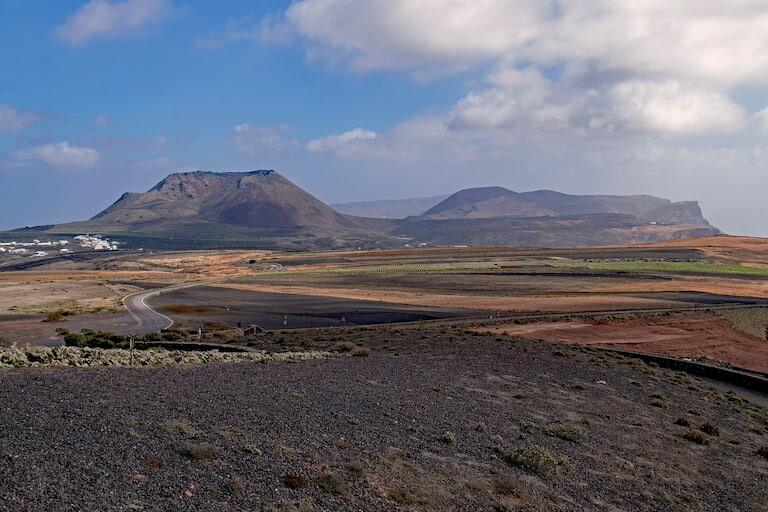 Volcán de la Corona, Lanzarote