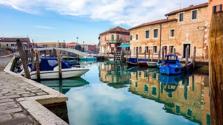 La isla de Murano.