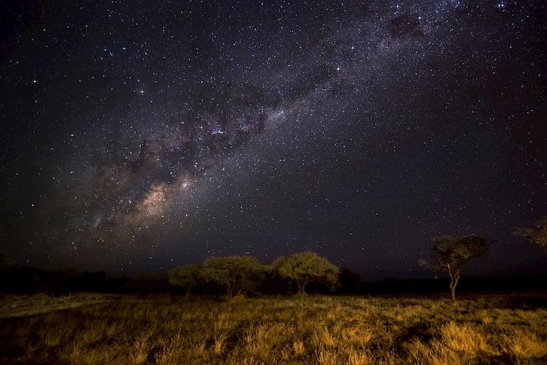 Cielo estrellado de Namibia