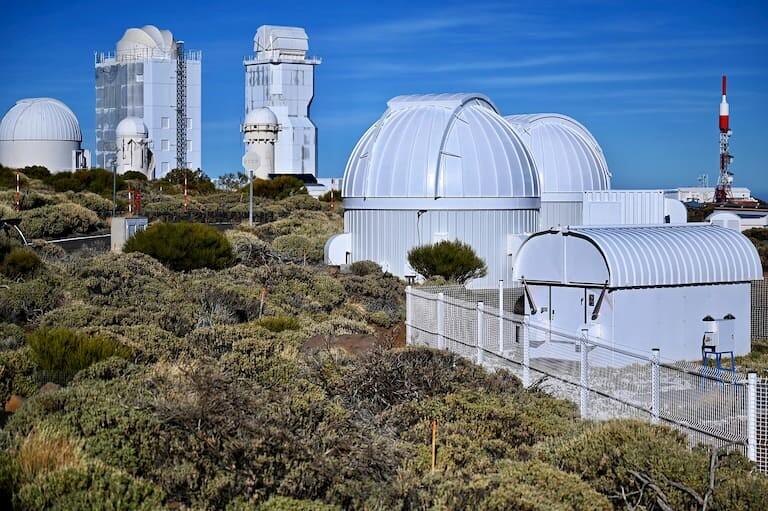 El Observatorio Astronómico del Teide.
