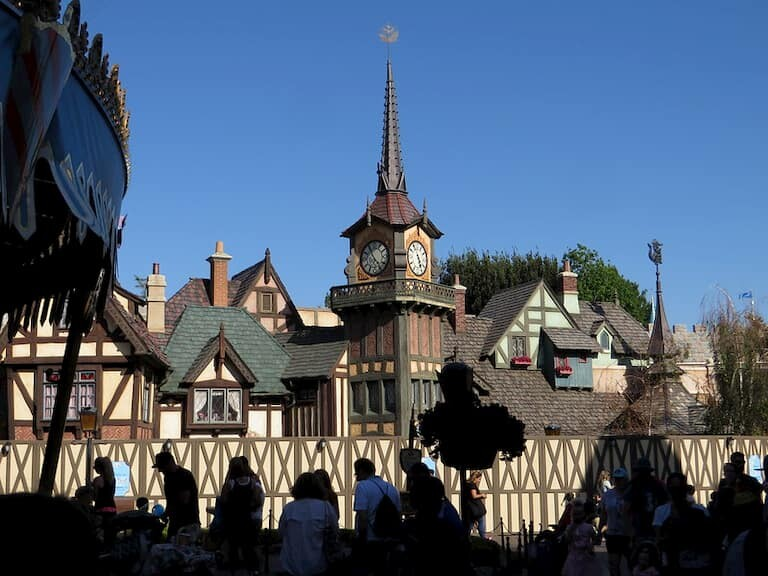 El vuelo de Peter Pan en Disneyland Paris