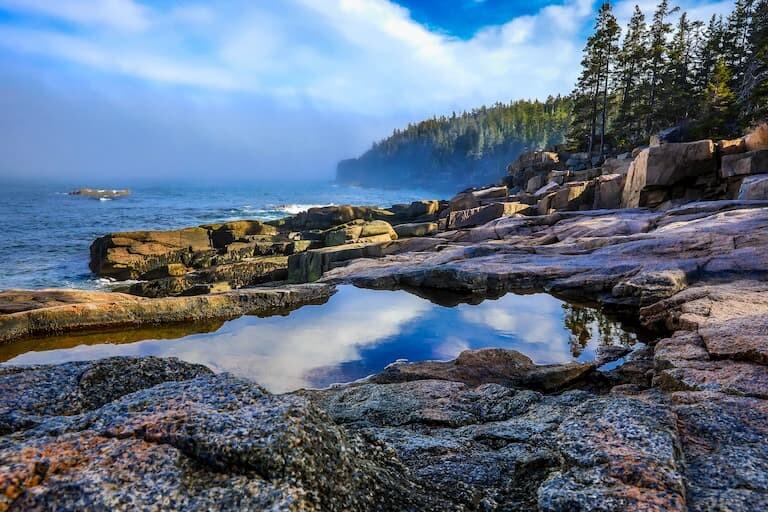 El Parque Nacional de Acadia