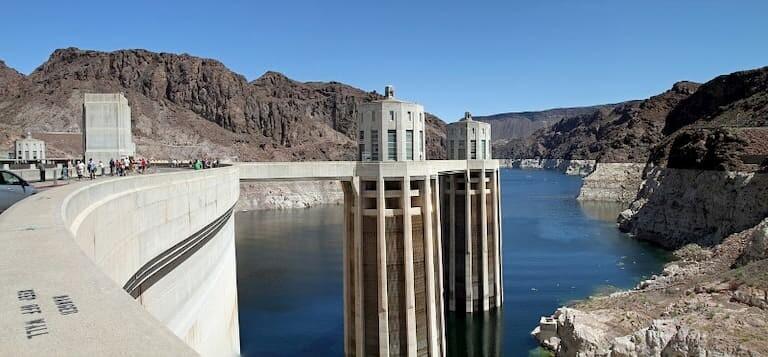 La Presa Hoover en Las Vegas