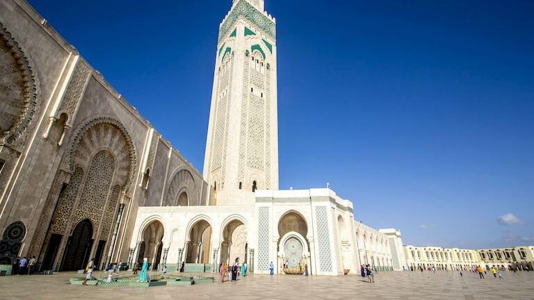 Mezquita de Hassan II de Casablanca