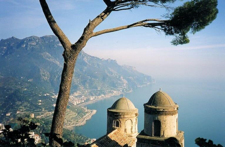 Vistas desde Ravello, Costa Amalfitana