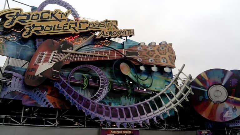 Rock 'n' Roller Coaster con Aerosmith