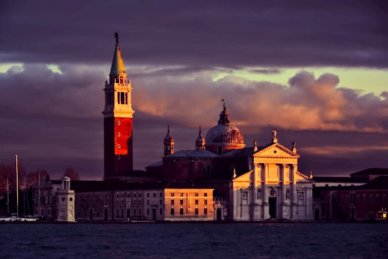 Basílica de San Giorgio Maggiore.