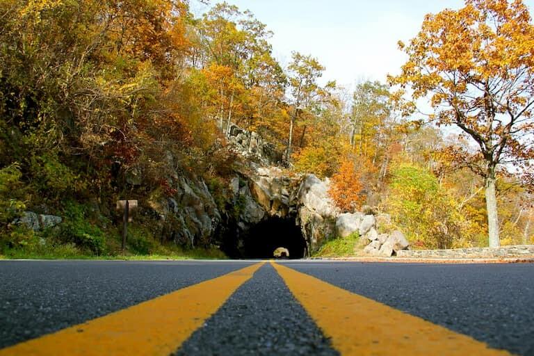 Skyline Drive del Parque Nacional de Shenandoah