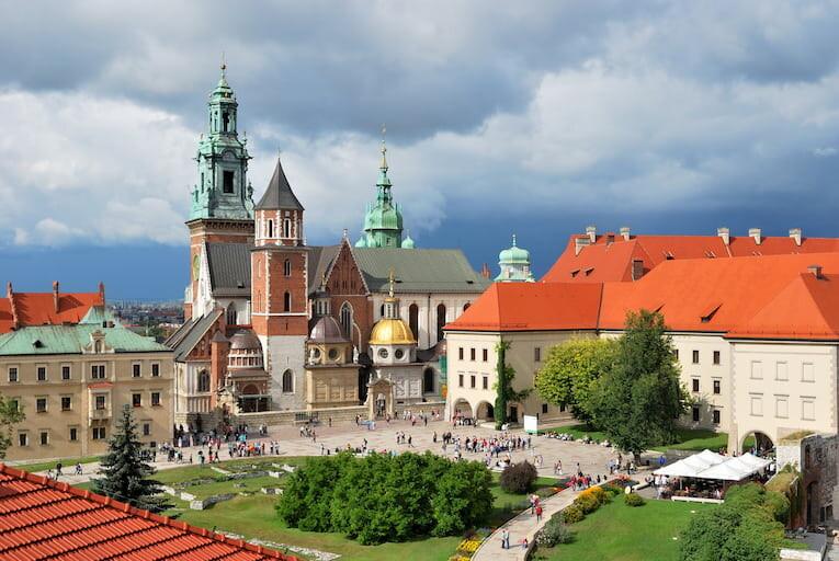 Castillo Real de Wawel en Cracovia