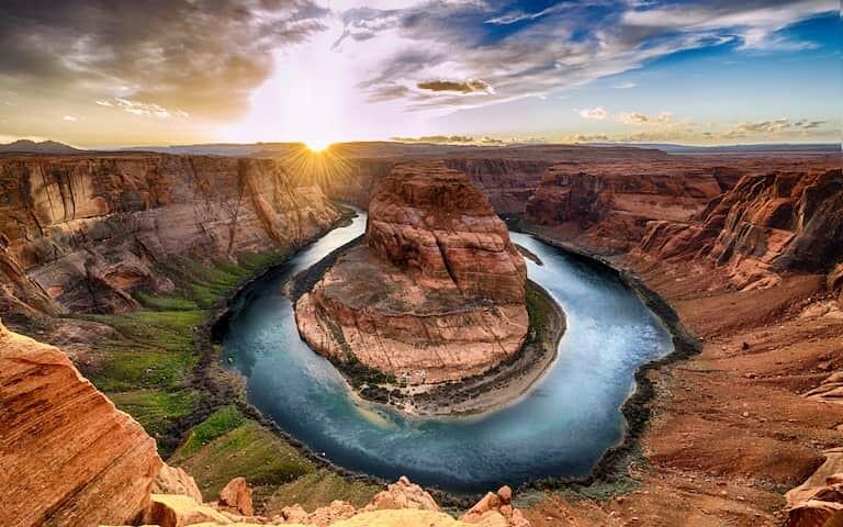 Antelope Canyon al atardecer