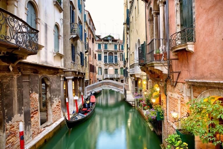 Canales secundarios de Venecia