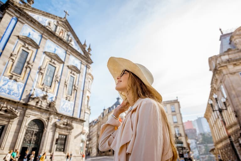 Iglesia dos Congregados en Oporto