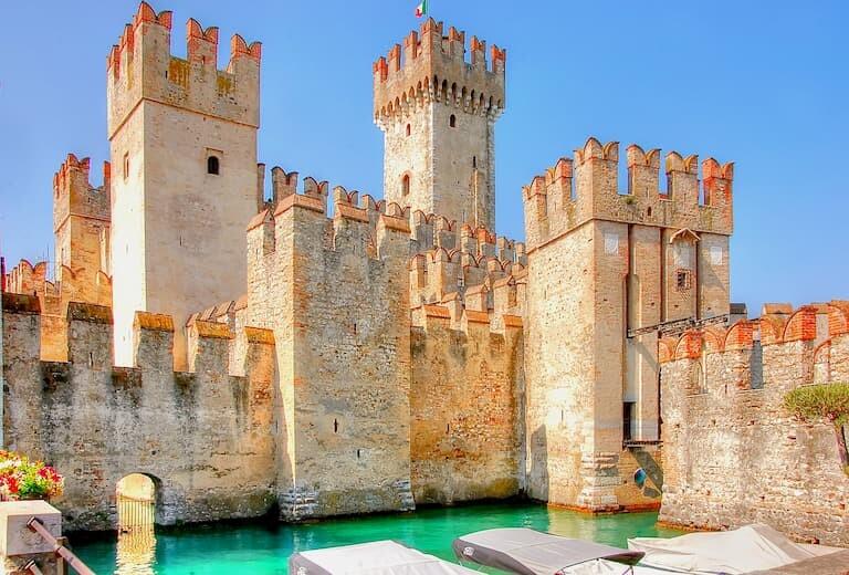 El Castillo de Sirmione.