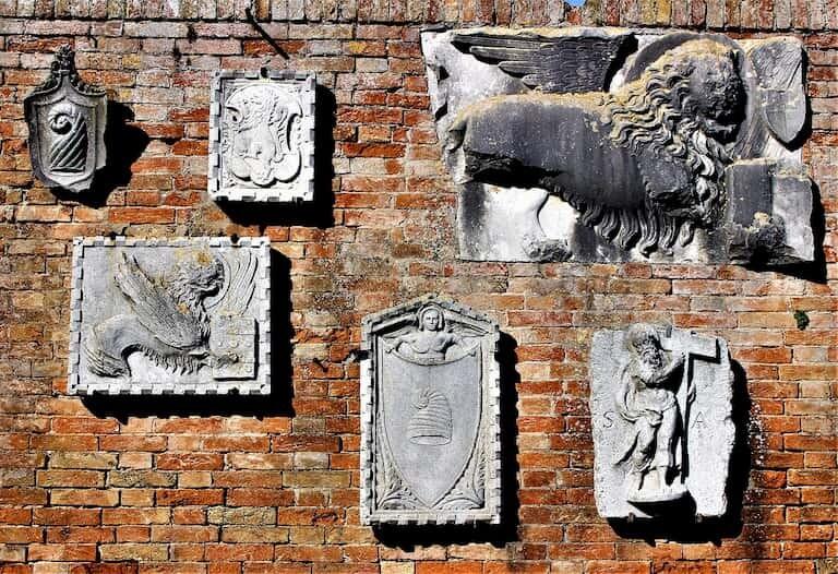Piezas del Museo de Torcello