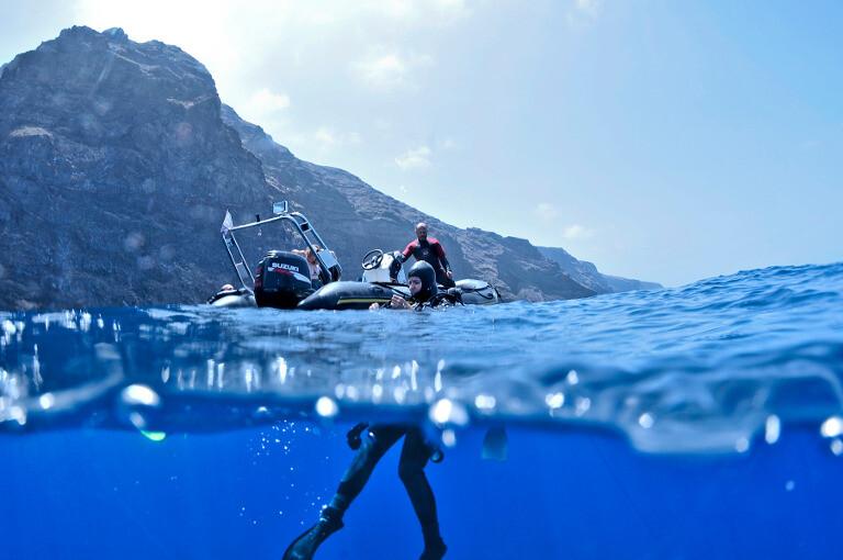Submarinismo en Costa Teguise.