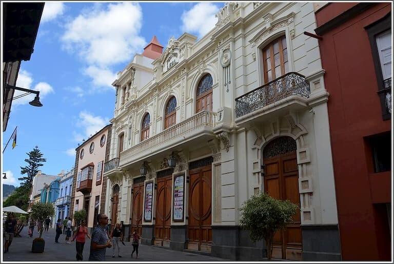 El Teatro Leal de La Laguna.