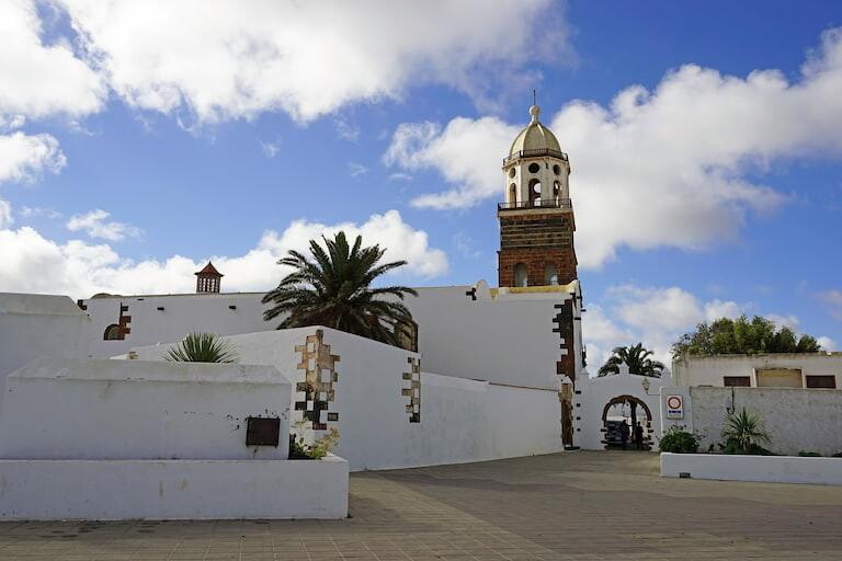 El pueblo de Teguise en Lanzarote.