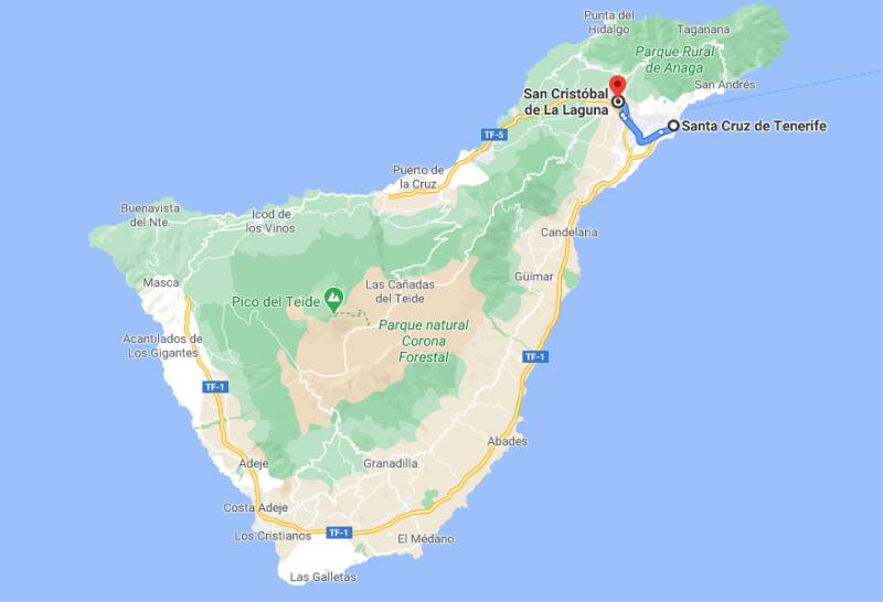 ¿Cómo llegar a La Laguna?