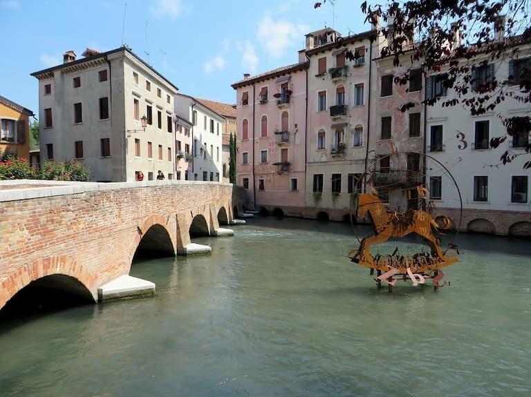 Los canales de Treviso.
