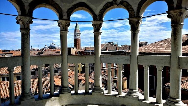 Vistas desde el Palacio Contarini del Bovolo.